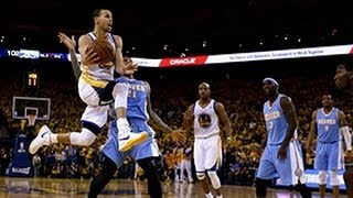 Steph Curry's Awesome Back To Back Floaters