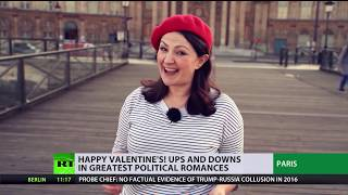 Happy Valentine's! - Ups and downs in greatest political romances - RUSSIATODAY