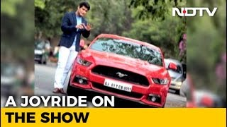 A Ride In The Ford Mustang - NDTV