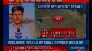 China enhancing war preparedness; build up of Chinese Air Force in Tibet near LAC - NEWSXLIVE