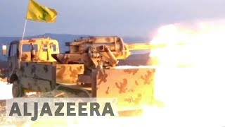 Hezbollah launches major ground offensive on Syria-Lebanon border - ALJAZEERAENGLISH