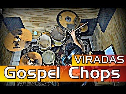 Viradas Gospel Chops  - AULA DE BATERIA