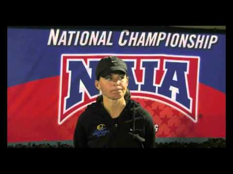 2013 NAIA WSoc National Championship Head Coach Interview - Samantha Bohon, Embry-Riddle (Fla.)