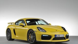 2015 Porsche Cayman GT4 revealed