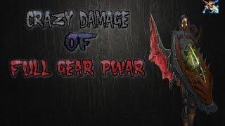 Damage of Pwar 3000 rating (Morphynistka) on WoWCircle, Щегол VS Хохол [WoW LK]