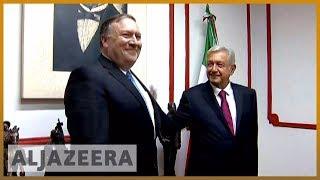 🇺🇸 🇲🇽 Mike Pompeo meets Mexico's president-elect Obrador | Al Jazeera English - ALJAZEERAENGLISH