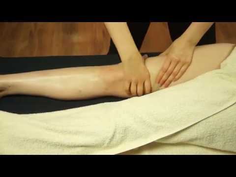 Real Time Front of Leg Massage