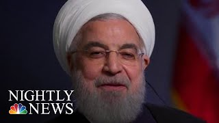 Citing U.S. Sanctions, Iranian President Says He Has No Plans To Meet Trump | NBC Nightly News - NBCNEWS
