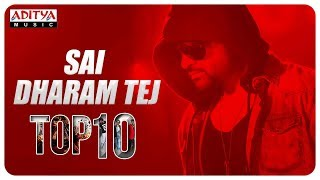 Sai Dharam Tej Top 10 Hit Songs ♫♫♫♫ - ADITYAMUSIC