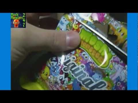 Moshi Monsters Moshlings Originals Blind Bag Pack Box Opening Part 1