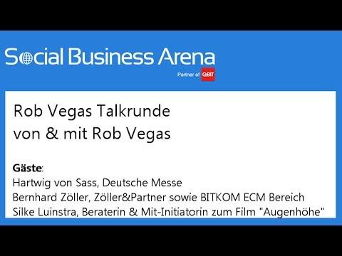 #cebitsba 2014 | Rob Vegas Talkrunde am 10.03. mit Hartwig v.Sass, Bernhard Zöller & Silke Luinstra