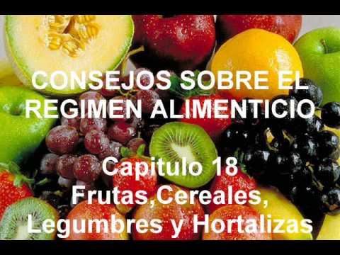 Capitulo 18. Frutas, Cereales, Legumbres y Hortalizas.