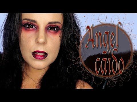 Tutorial Maquillaje Halloween Ángel Caído | Silvia Quiros