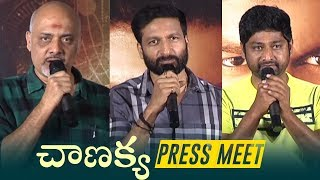 Gopichand Chanakya Movie Pre Release Press Meet - TFPC