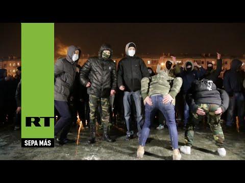 El frenesí nacionalista irrumpe en un concierto pop en Kiev