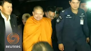 Wanted monk arrives in Thailand after U.S. extradition - REUTERSVIDEO