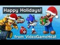 Mario &amp; Sonic's VGH Christmas Special &quot;Pimp My Sleigh and Snow Throw&quot; - Random Flash Games!