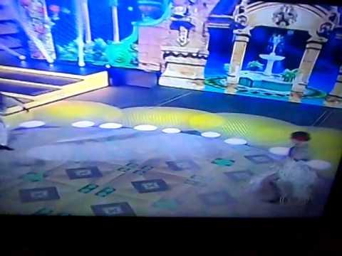 Paloma dança dos famosos passo doble