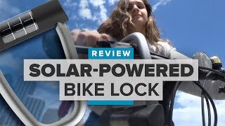 Lattis Ellipse review: Would you use a solar-powered, app-enabled bike lock? - CNETTV