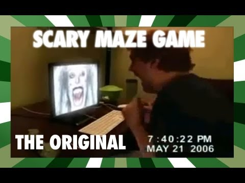 Scary Maze Game Reaction[Monitor Punch]