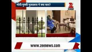 J&K govt formation: PDP's Mufti Mohammad Sayeed meets PM Modi - ZEENEWS