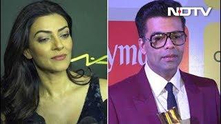 Bollywood Reacts: Karan Johar & Sushmita Sen On Padmavat's Release - NDTV