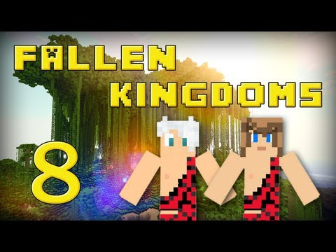 Fallen Kingdoms 2 : Frigiel & Ectalite   Jour 8 - Minecraft
