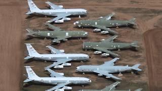 فيديو مقبرة العظام اخر مهبط لآلاف الطائرات المتقاعدة