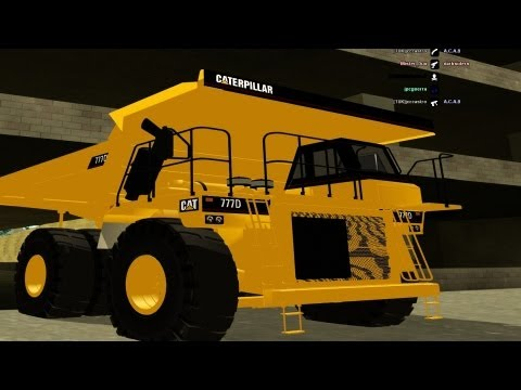 GTA SAMP CAT BIG DUMPER Mod Test Drive & GamePlay