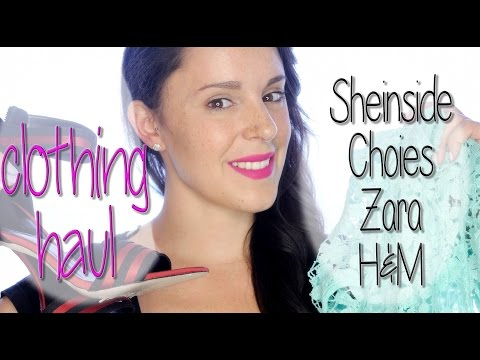 Clothing haul, Sheinside, Choies, Zara and H&M | Silvia Quiros