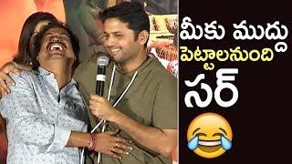 Nithin Funny Speech @ Srinivasa Kalyanam Pre Release Event | TFPC - TFPC