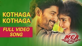 MCA Video Songs - Kothaga Kothaga Full Video Song | Nani, Sai Pallavi - DILRAJU