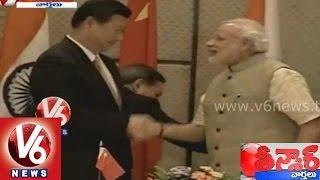 Modi MoU with China benefits Gujarat - Teenmaar News - V6NEWSTELUGU
