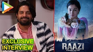 Raazi Actor Jaideep Ahlawat Expresses His Excitement For The Film & Working With Dharma Production - HUNGAMA