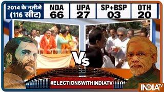 LS Polls 2019: Sambit Patra challenging BJD heavyweight Pinaki Mishra in Orissa's Puri - INDIATV