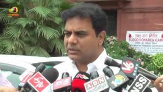 Telangana Minister KTR On CST Compensation | 17th GST Council Meet | Mango News - MANGONEWS