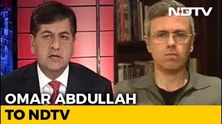 """""""Lessons To Be Learnt"""": Omar Abdullah To NDTV After Pulwama Attack - NDTV"""