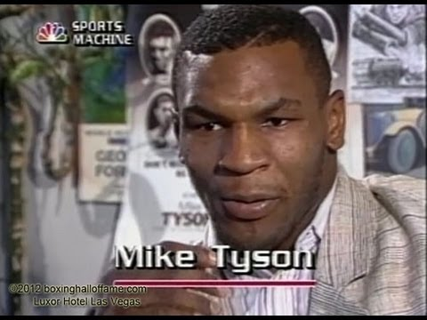 Mike Tyson on Sport Machine
