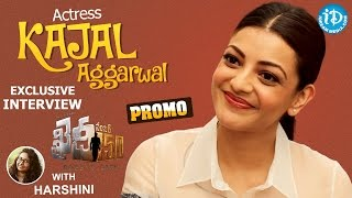 Khaidi No 150 Actress Kajal Aggarwal Exclusive Interview - Promo || Talking Movies with iDream - IDREAMMOVIES