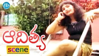 Aditya Movie Scenes - Jagadish Goes To Meet Swetha || Shilpa || Swapna - IDREAMMOVIES
