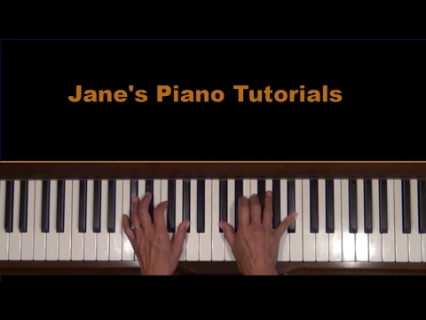 Grieg Wedding Day at Troldhaugen Piano Tutorial SLOW