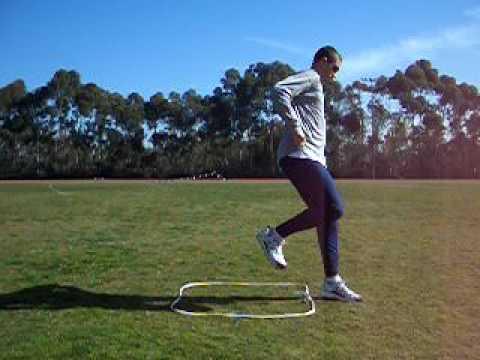 Square Hop Drill