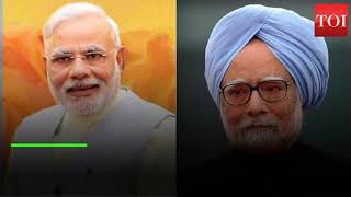 Manmohan Singh accuses Narendra Modi of messing up economy with 'jumla' policies - TIMESOFINDIACHANNEL