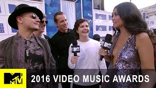 Lukas Graham Are White Carpet Awestruck | 2016 Video Music Awards | MTV - MTV