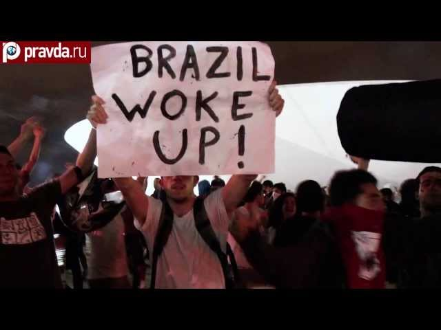Football and Olympics spark riots in Brazil