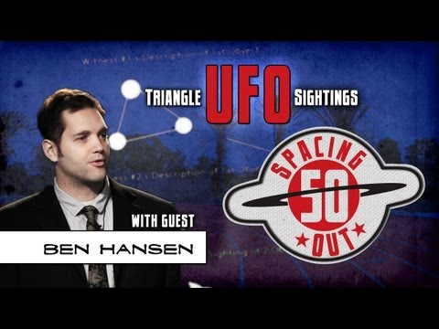 Ben Hansen details his triangle UFO sighting in Huntington Beach - Spacing Out! Ep. 50