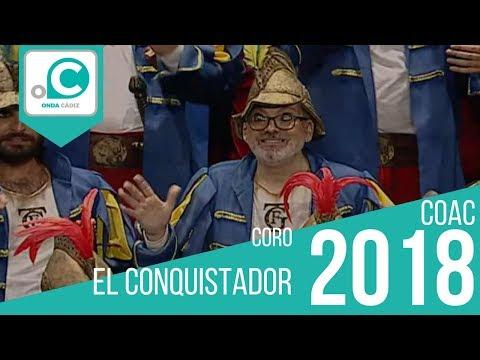 La agrupación El Conquistador llega al COAC 2018 en la modalidad de Coros. Primera actuación de la agrupación para esta modalidad.
