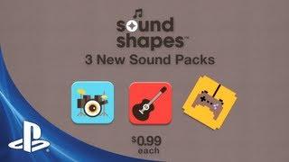 Sound Shapes DLC Packs #1 Trailer