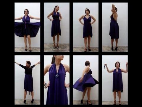 Cómo hacer un vestido sin dar una sola puntada - How to make a dress without sewing - Design 101