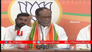 Telangana BJP Chief K Laxman Fires On KCR & Chandrababu Naidu | Hyderabad | iNews - INEWS